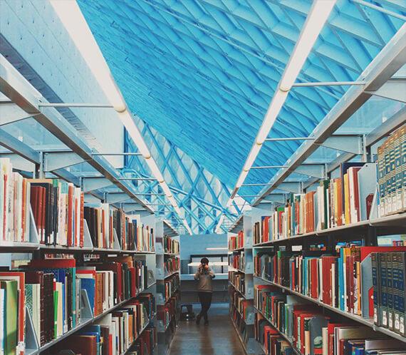 Vorwärts lesen und informiert bleiben Library.jpg