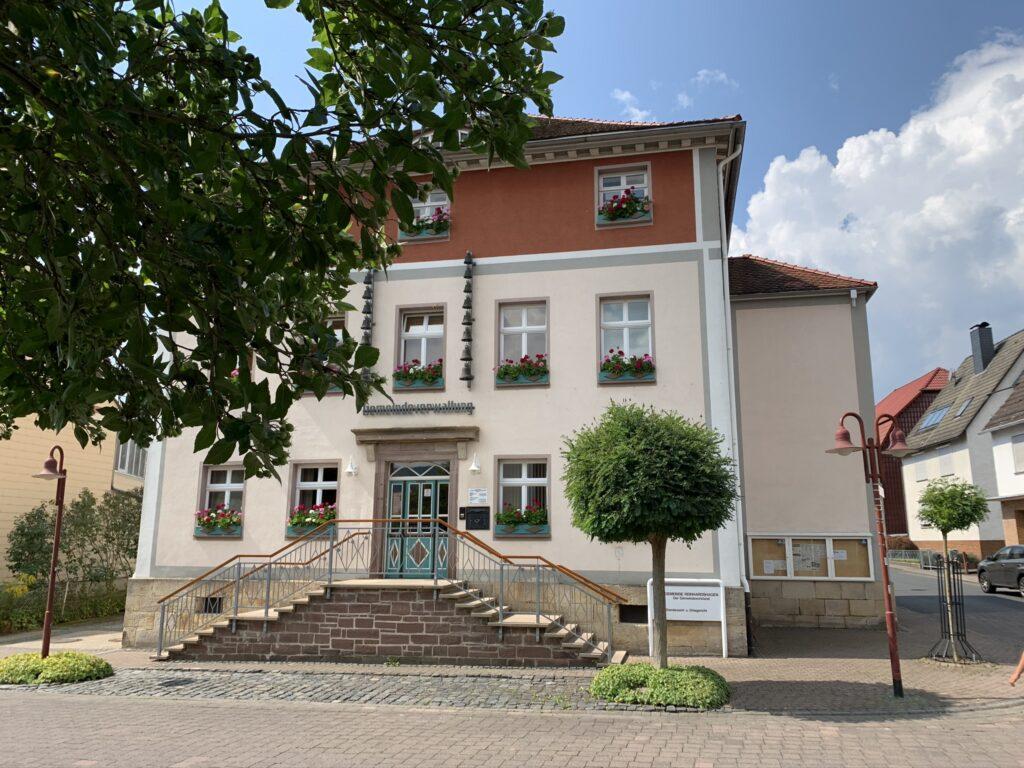 Reinhardshagen Gemeindehaus frontal