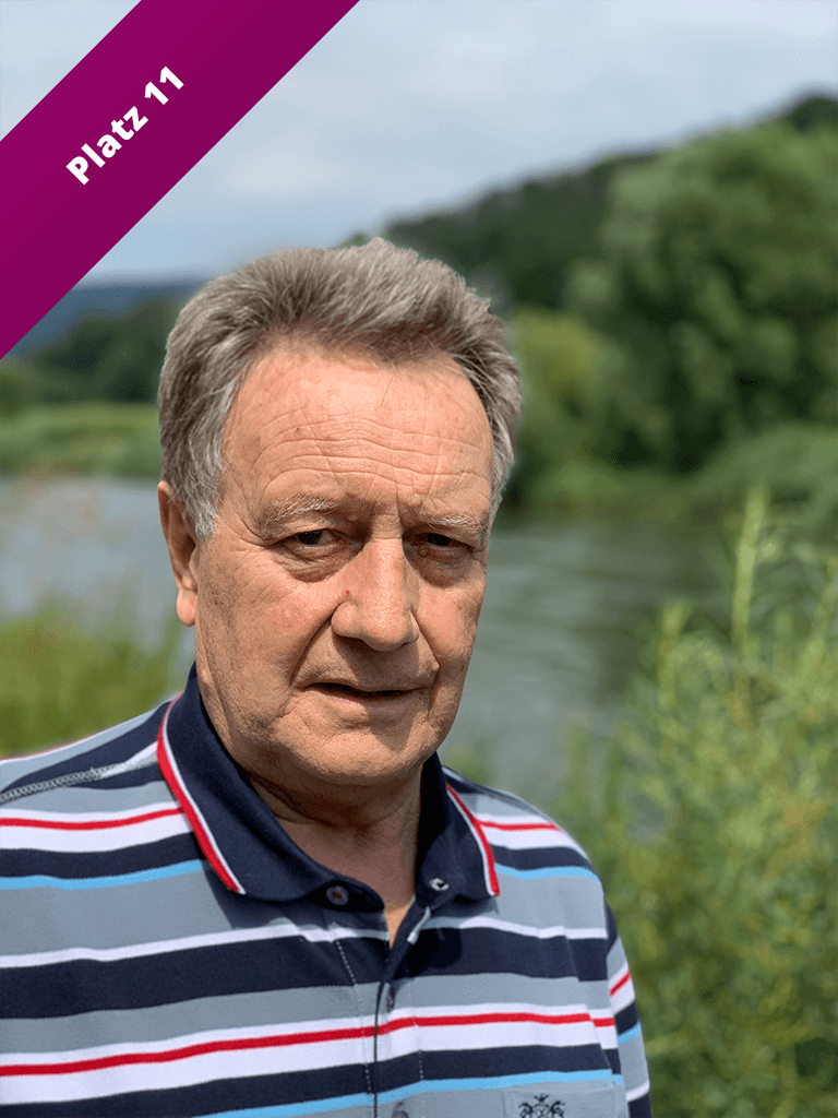 Liste Platz 10 Erich Lotze Kommunalwahl 2021