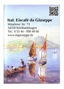Logo Ital. Eiscafe da Guiseppe Reinhardshagen