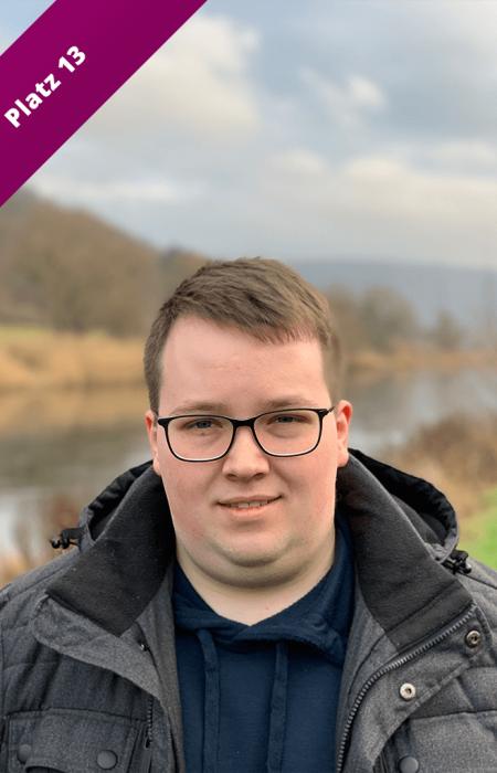 Liste Platz 13 Marcel Zierenberg Kommunalwahl 2021