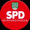 SPD-Reinhardshagen Ortsverein Logo rund